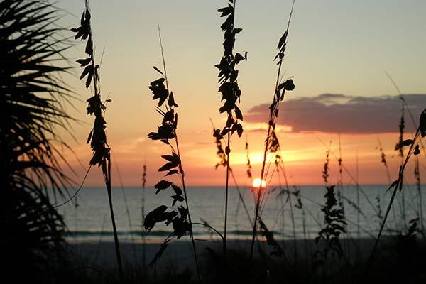 Anna Maria Beach Sunset - just steps away from Anna Maria Beach Cottages