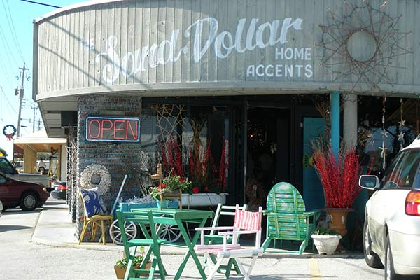 Shop Local on Anna Maria Island - Sand Dollar Home Accents